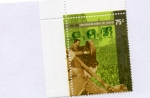 Stamps : America : Argentina :  CGT