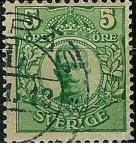 Sellos de Europa - Suecia -  Gustave V
