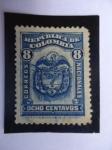 Sellos de America - Colombia -  ESCUDO - República de Colombia - Correos Nacionales.