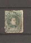 Stamps : Europe : Spain :  ALFONSO XIII   EDIFIL 242
