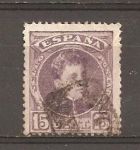Stamps : Europe : Spain :  ALFONSO XIII