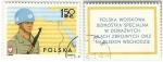 Stamps Poland -   UNIDAD ESPECIAL DE LAS FUERZAS ARMADAS POLACAS EN ORIENTE MEDIO