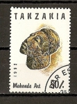 Stamps Africa - Tanzania -  Arte Africano.