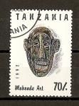 Sellos de Africa - Tanzania -  Arte Africano.