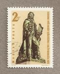 Sellos de Europa - Hungr�a -  Bicentenario poeta C. Vitez