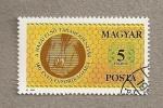 Stamps Hungary -  150 Aniv. Banco Ahorro Hungría