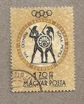 Stamps Hungary -  Juegos Olímpicos Roma 1960