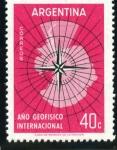 Stamps : America : Argentina :  Año Geofísico