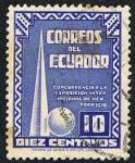 Stamps Ecuador -  EXPOSICION INTERNACIONAL DE NEW YORK 1939
