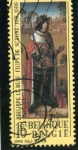 Stamps : Europe : Belgium :  Pintura de Philippe le beaux