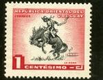 Sellos del Mundo : America : Uruguay : La doma