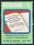 Stamps Ecuador -  UN AÑO DE GOBIERNO 1967-1968