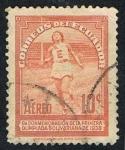 Stamps Ecuador -  PRIMERA OLIMPIADA BOLIVARIANA DE 1938