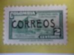 Stamps Colombia -  Palacio de Comunicaciones-Sobretaza para la Construcción.