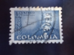 Stamps of the world : Colombia :  Nicolas  Osorio.