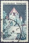Stamps : Europe : France :  La Tour de Cesar / Provins