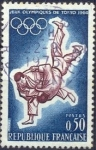 Stamps : Europe : France :  Jeux Olympiques de Tokio 1964