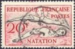 Stamps : Europe : France :  Natation