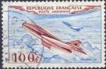 Stamps : Europe : France :  Mystére IV