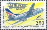 Stamps : Europe : France :  1er. Vuelo Postal / Nancy - Luneville 1912