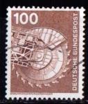 Sellos de Europa - Alemania -  703. Industria y técnica