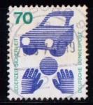Stamps Germany -  576A. Prevención de accidentes