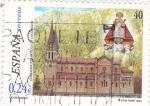 Sellos de Europa - España -  Consagración Basílica de Covadonga     (J)