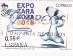 Sellos de Europa - España -  Expo-Zaragoza 2008      (J)