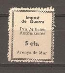 Stamps : Europe : Spain :  AREYNS DE MAR