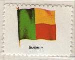 Stamps Africa - Benin -  Dahomey - Bandera