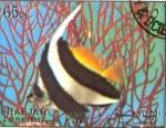 Stamps United Arab Emirates -  peces