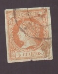 Stamps Europe - Spain -  Isabel II