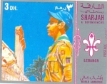 Stamps United Arab Emirates -  jamboree mundial