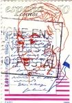 Sellos de Europa - España -  Gabriela Mistral -escritora chilena         (J)