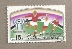 Sellos de Asia - Corea del norte -  Mundial Fútbol Argentina 78