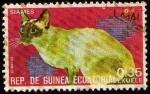 Sellos de Africa - Guinea Ecuatorial -  Siames
