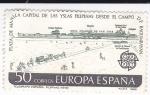 Stamps Spain -  Campo de Bagumbayan     (J)
