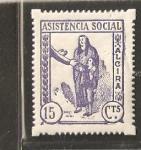 Sellos de Europa - España -  ALCIRA ASISTENCIA SOCIAL
