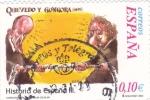 Sellos de Europa - España -  Historia de España  -QUEVEDO GONGORA (1625)      (J)