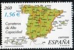 Sellos de Europa - Espa�a -  Programa de infastructuras. Carreteras de alta capacidad.