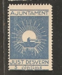 Stamps Spain -  JUST DE DESVERN