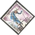 Sellos de Europa - España -  2408 - Copa del mundo de esqui