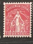 Stamps : Europe : Spain :  DENIA ASISTENCIA SOCIAL