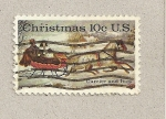 Sellos de America - Estados Unidos -  Navidades 74-75