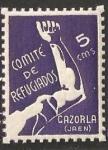 Stamps : Europe : Spain :  CAZORLA COMITE DE REFUGIADOS