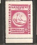 Stamps Spain -  JUNCOSA DE LES GARRIGUES