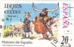 Stamps Europe - Spain -  Historia de España  -IBEROS y CELTAS   (500 a.c.)       (J)