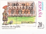 Stamps Spain -  Historia de España  -NUMANCIA (133 a.c.)         (J)
