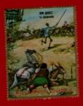 sello : Africa : Guinea_Ecuatorial : DON QUIJOTE