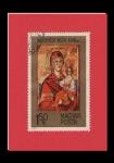 Stamps Hungary -  ESTAMPA RELIGIOSA